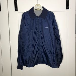 Vintage Izod Lacoste Full Zip Jacket Size Large